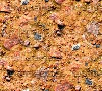 Sand with stones 55