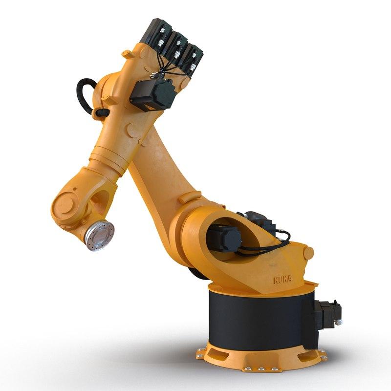 Kuka Robot KR-36 Fortec Rigged 3d model 01.jpg
