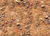 Sand with stones 49