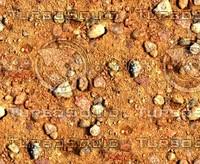 Sand with stones 54