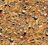 Sand with stones 52