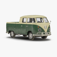 3ds max volkswagen type 2 double