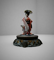 3d china statue