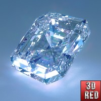 obj asscher cut diamond