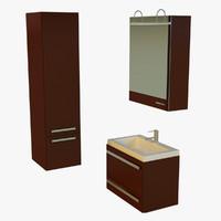 washbasin basin 3ds