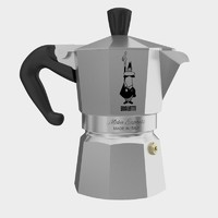 bialetti moka espresso coffee machine 3d model