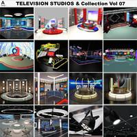 3d television studios vol 07