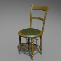 Antique Chair (high poly)