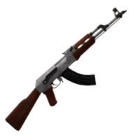 AK-47 Rifle *Low Poly*
