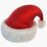 santa hat 3d max