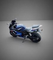 suzuki gsx gsxr 3d model