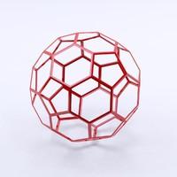 3d max fullerene buckminst