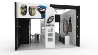 maya exhibition stand design