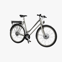 electric bike 3D models