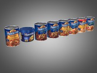 3d model of cans progresso soup