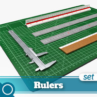 rulers cutting mat 3d max
