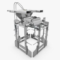 forklift layer picker 3d model