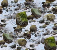 Rocks in water 6