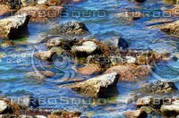 Rocks in water 8