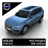 3d xc90 2015 suv model