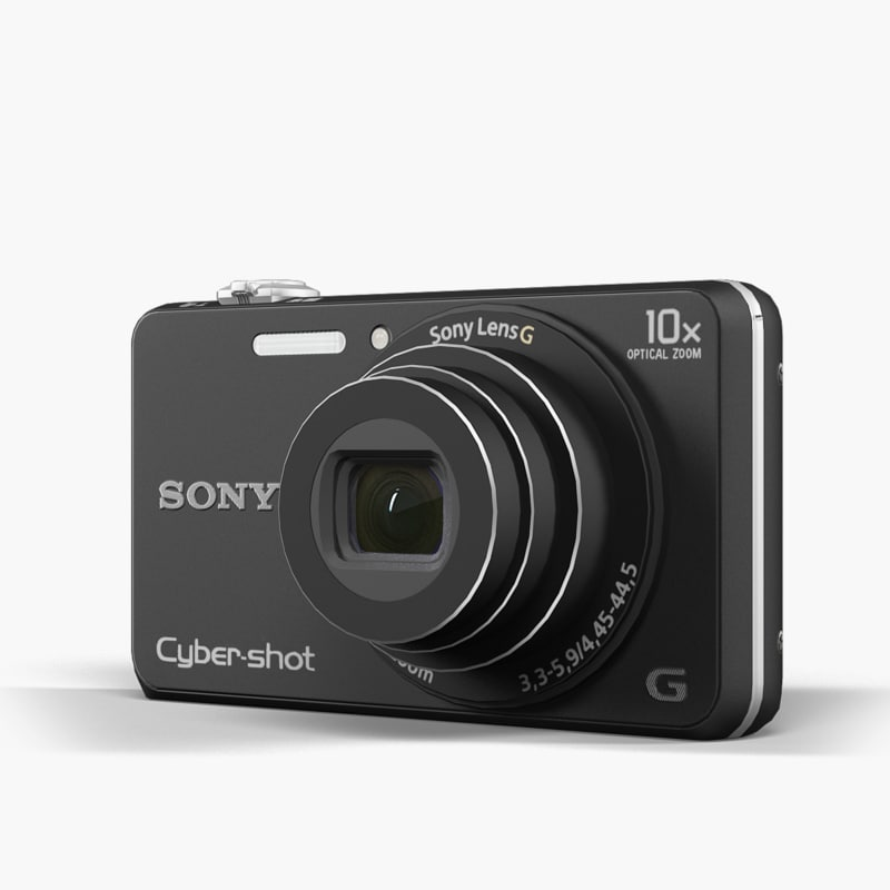 fbx camera sony cyber shot dsc