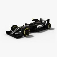 3d model haas f1 2016