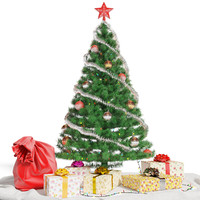 3d christmas tree gifts