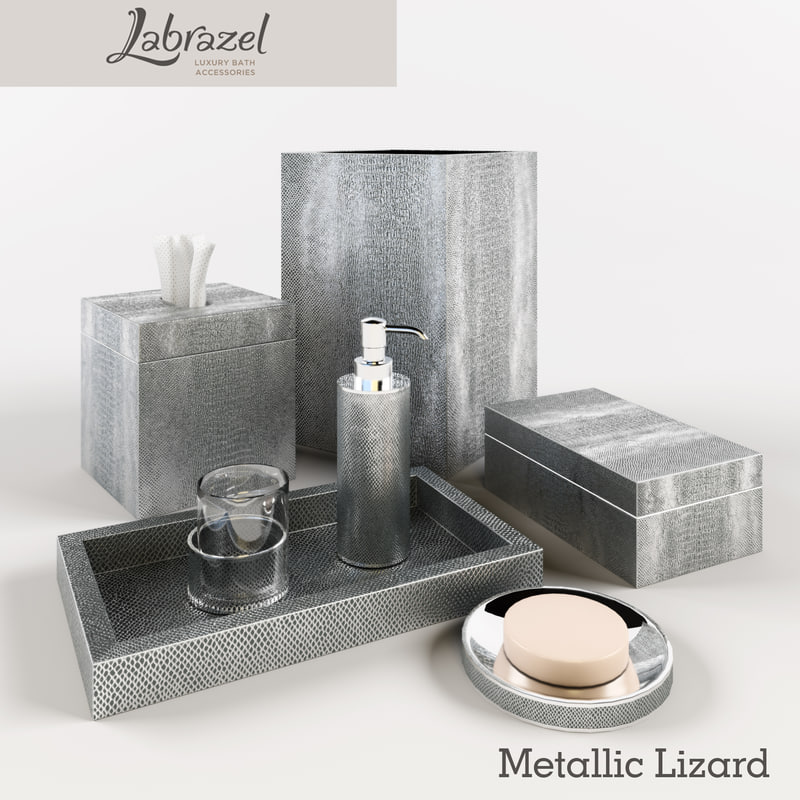 3d accessories metallic labrazel for 3d bathroom accessories