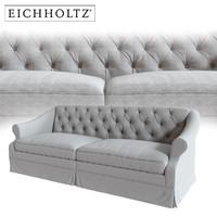 eichholtz aldrige sofa 3d obj