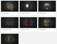 3d model city objects