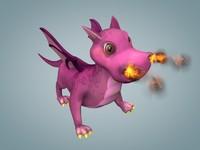 dragon animation 3ds