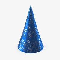party hat 3d max