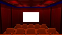 3d fine home theater model