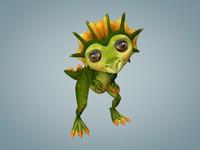 3ds dragon cartoon