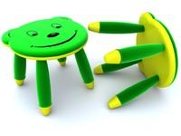 3d baby stool