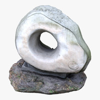 sculpture stone scan dxf