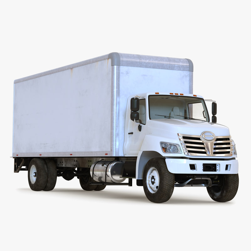 Box Truck Simple Interior 3d model 00.jpg