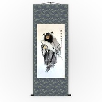 3d chinese hanging scroll
