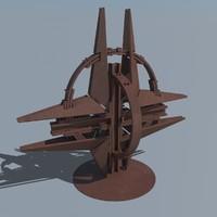 nato monument 3d model