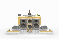 dj stage set lhsp max