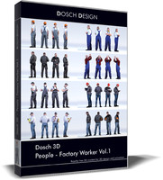 product people - factory 3d model