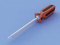 3d max screwdriver