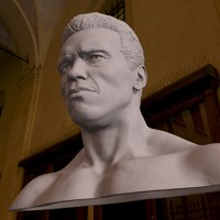 3d bust arnold schwarzenegger printable