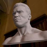 3D Printable model Arnold arnold schwarzenegger v2