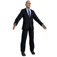 3d 3ds usa barack obama