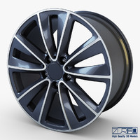 3d model style 247 wheel ferric