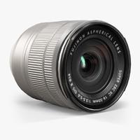 3d fujifilm fujinon xc16-50mm f