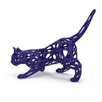 printable printing cat 3d max