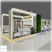 3d model exhibition 107