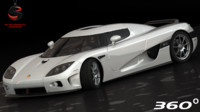 koenigsegg ccx 2006 3d model